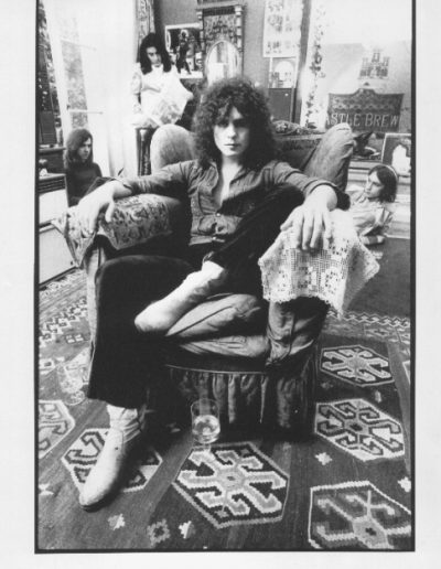 T-Rex Electric Warrior poster, London 1971