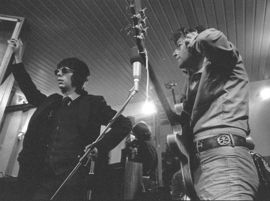 Phil Spector and JL, Tittenhurst May1971