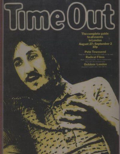 Pete Townshend, London 1971